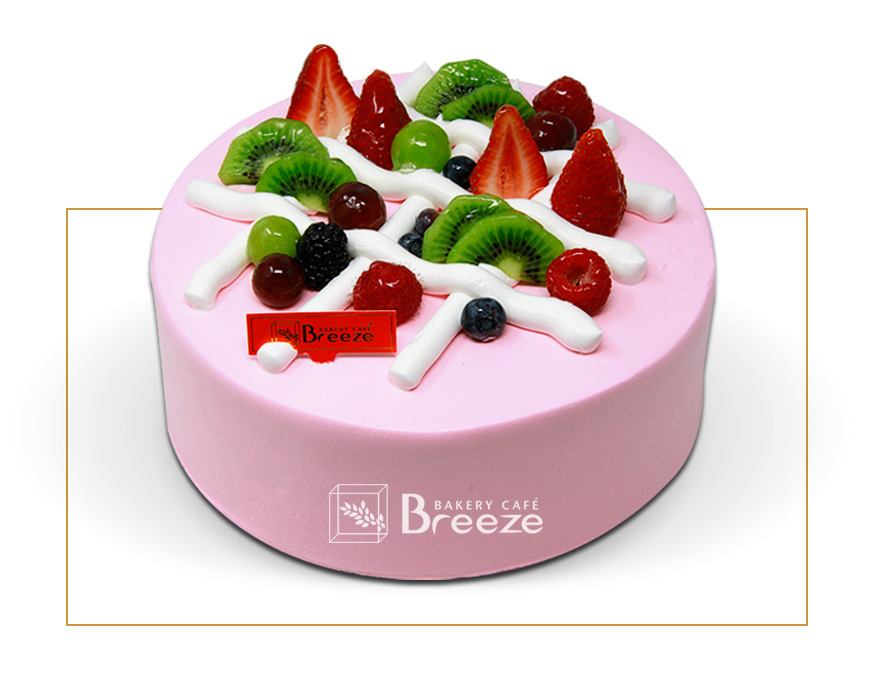 #3 Strawberry Fresh Cream Cake