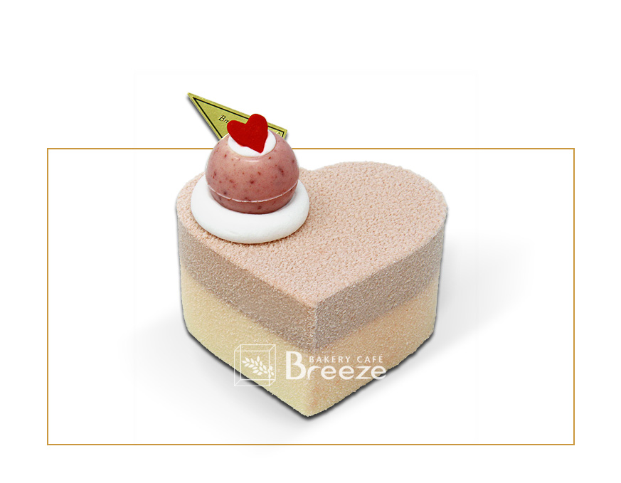 Lovely Couple Mousse Cake